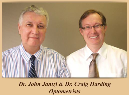 Dr. John Jantzi & Dr. Craig Harding, optometrists in Langley & Surrey